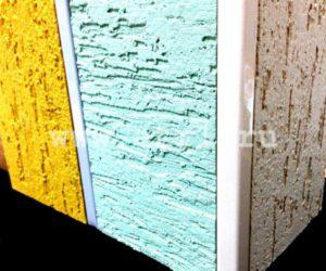 Монтаж планки внешнего угла на фасад