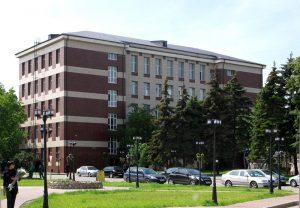 Фасад здания - облицовка керамогранитом
