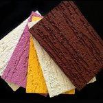 Фиброцементная плита (фасадная панель) с покрытием Короед, Кора дуба