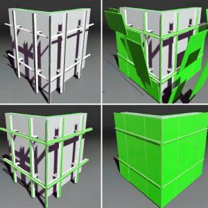 Облицовка фиброцементными панелями