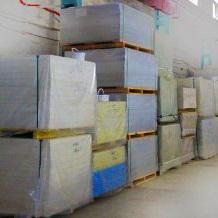 Хранение фиброцементных плит, фасадных панелей