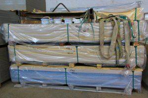 Упаковка и погрузка фасадных панелей, фиброцементных, асбестоцементных, хризотилцементных - рекомендации