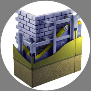 Горизонтально-вертикальная конструкция